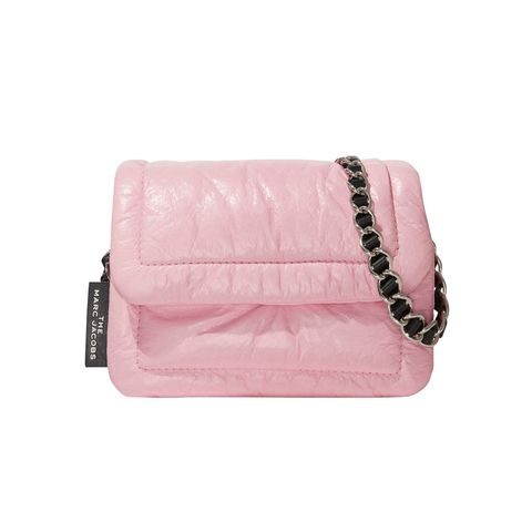 Brown, Textile, Pink, Bag, Leather, Outdoor sofa, Beige, Rectangle, Natural material, Liver,