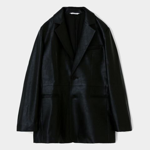 Clothing, Collar, Sleeve, Coat, Textile, Outerwear, Jacket, Fashion, Black, Natural material,