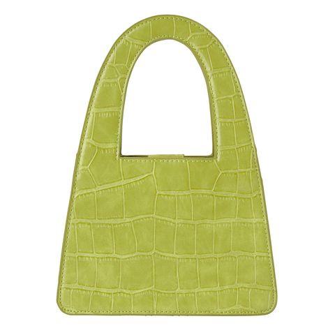 Green, Bag, Beige, Bib,