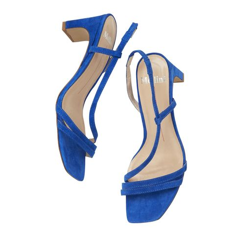 Blue, Electric blue, Tan, Beige, Fashion design, Sock, Synthetic rubber, Suede, Boot,