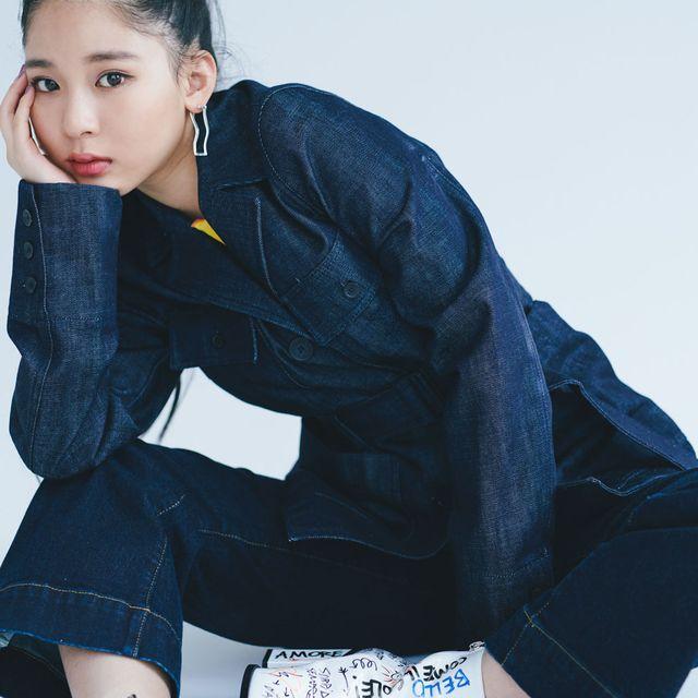 Blue, Sleeve, Collar, Denim, Jacket, Textile, Coat, Sitting, Style, Fashion,