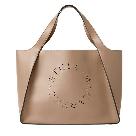 Bag, Luggage and bags, Fashion accessory, Shoulder bag, Leather, Beige, Handbag, Shopping bag, Tote bag,