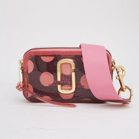 Bag, Handbag, Pink, Fashion accessory, Magenta, Coin purse, Wristlet, Shoulder bag, Material property, Satchel,