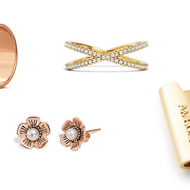 Yellow, Metal, Amber, Font, Fashion accessory, Beige, Body jewelry, Tan, Gold, Bronze,