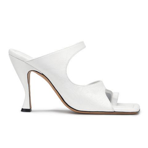 Footwear, White, Tan, High heels, Grey, Beige, Foot, Sandal, Leather, Basic pump,