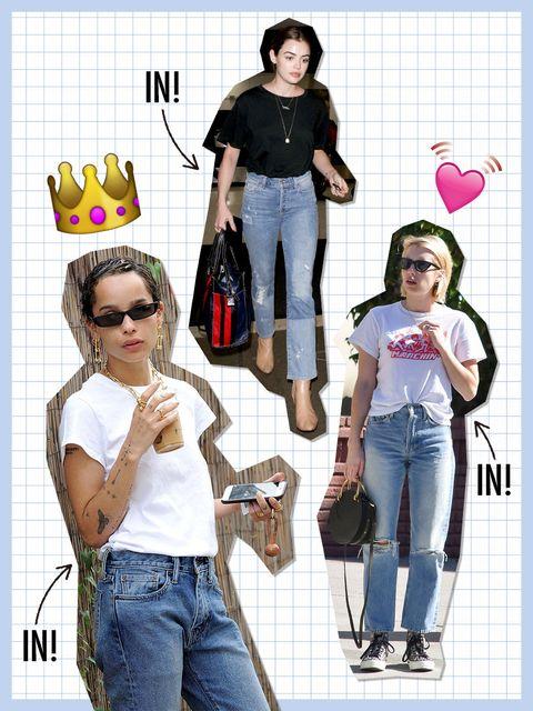 Jeans, Clothing, Denim, Fun, Footwear, Waist, Textile, Pattern, T-shirt, Style,