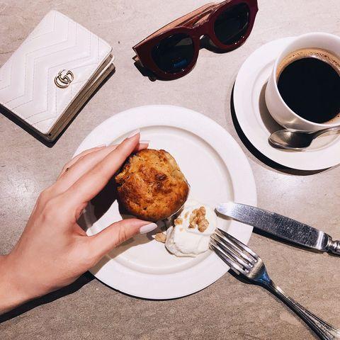 Food, Dish, Cuisine, Breakfast, Ingredient, Eyewear, Dessert, Meal, Brunch, Coffee,