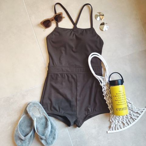 Clothing, White, Yellow, Dress, One-piece garment, Clothes hanger, Footwear, camisoles, Shoe,