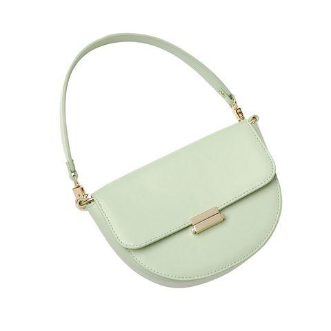 Product, Bag, White, Style, Fashion accessory, Shoulder bag, Luggage and bags, Fashion, Leather, Khaki,