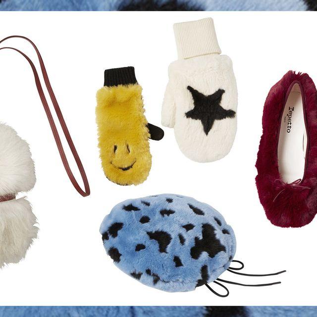 Product, Footwear, Fur, Shoe, Fashion accessory, Plush,