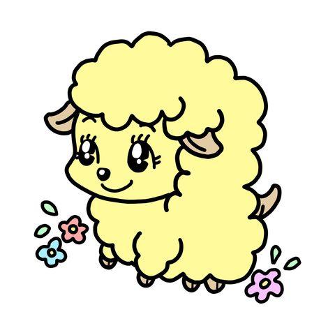 Head, Cartoon, Yellow, Line art, Illustration, Smile,