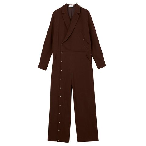 Collar, Sleeve, Coat, Textile, Standing, Formal wear, Blazer, Pocket, Beige, Button,