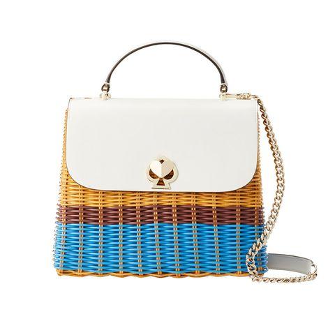 Blue, Bag, Azure, Beige, Home accessories, Shoulder bag, Rectangle, Silver, Basket,