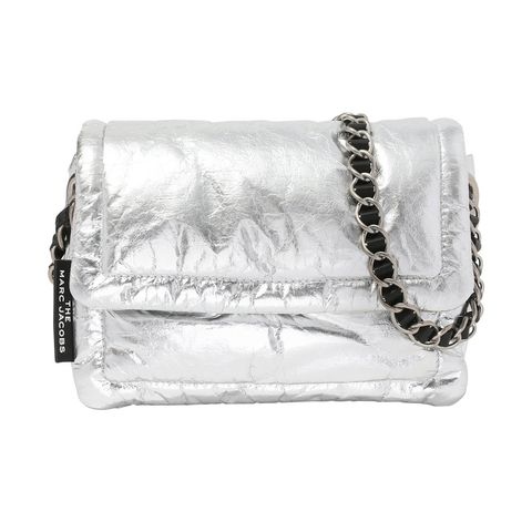 White, Bag, Jewellery, Natural material, Beige, Chain, Silver, Shoulder bag, Body jewelry, Leather,