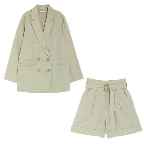 Collar, Sleeve, Textile, White, Coat, Pattern, Uniform, Khaki, Fashion, Blazer,