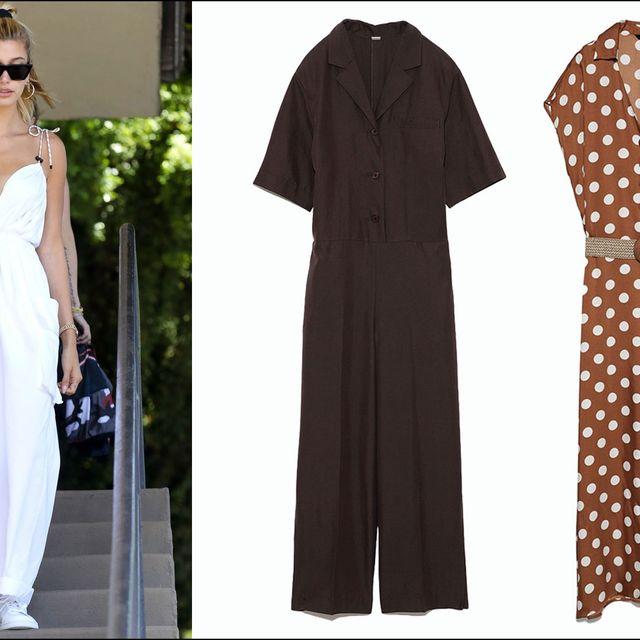 Brown, Sleeve, Textile, Collar, Pattern, Formal wear, Style, Sunglasses, Fashion, Street fashion,