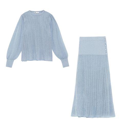 Blue, Product, Sleeve, Textile, Pattern, Grey, Electric blue, Aqua, Pattern, Fashion design,