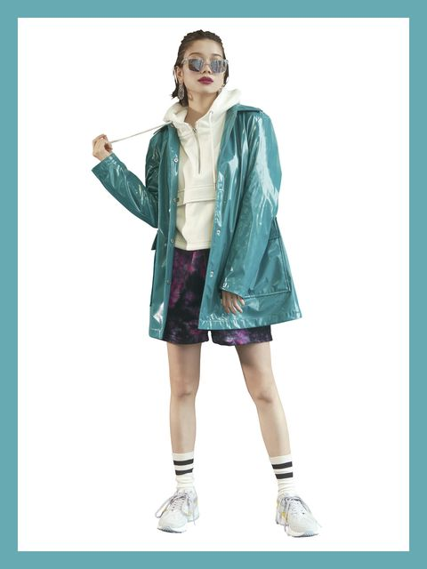 Clothing, Outerwear, Fashion, Footwear, Fashion model, Fashion design, Pattern, Sleeve, Pattern, Jacket,