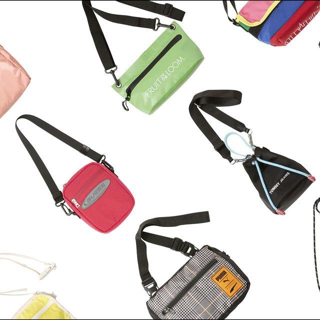 Red, Bag, Amber, Orange, Shoulder bag, Musical instrument accessory, Luggage and bags, Strap, Rectangle, Design,