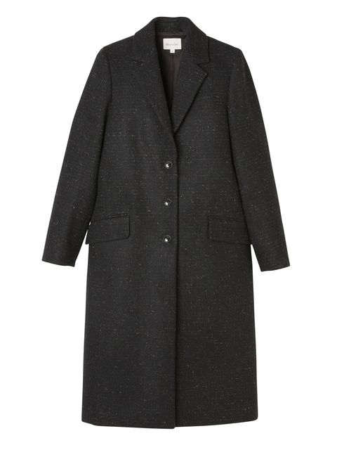 Coat, Collar, Sleeve, Textile, Outerwear, Dress shirt, Blazer, Button, Fashion, Pattern,