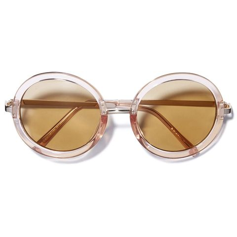 Eyewear, Sunglasses, Glasses, Personal protective equipment, Goggles, Brown, Transparent material, aviator sunglass, Vision care, Material property,