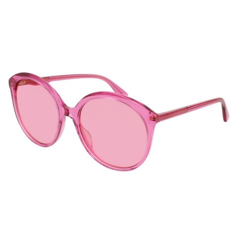 Eyewear, Sunglasses, Glasses, Pink, Personal protective equipment, Vision care, Transparent material, aviator sunglass, Goggles, Magenta,