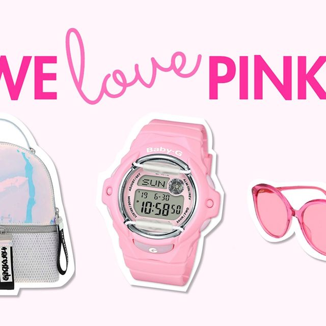Product, Pink, Font, Alarm clock, Baby Products, Watch, Brand,