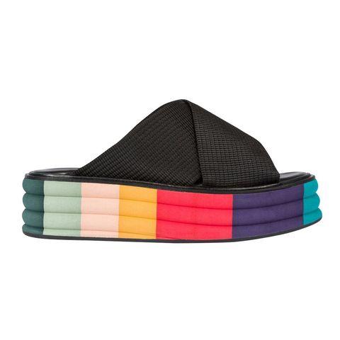 Footwear, Turquoise, Headgear, Shoe, Cap, Fashion accessory, Belt, Triangle,