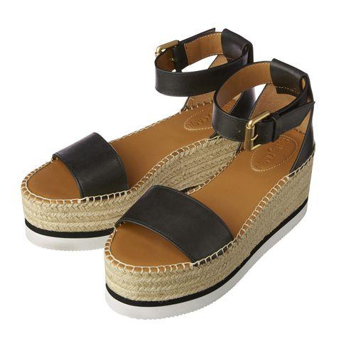 Footwear, Shoe, Sandal, Brown, Beige, Tan,