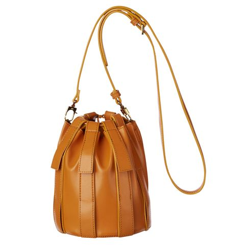Bag, Handbag, Tan, Shoulder bag, Leather, Brown, Fashion accessory, Yellow, Beige, Material property,