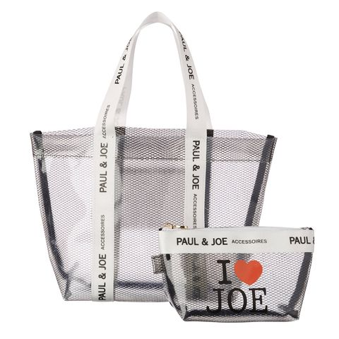 Bag, Handbag, White, Product, Tote bag, Fashion accessory, Material property, Font, Shoulder bag, Luggage and bags,