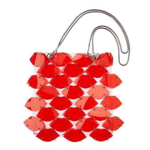 Red, Product, Coquelicot, Bag, Fashion accessory, Handbag, Plant, Petal, Shoulder bag,