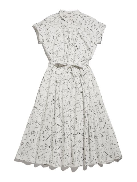 Clothing, Dress, Day dress, White, Cocktail dress, Lace, Sleeve, A-line, Gown, Pattern,
