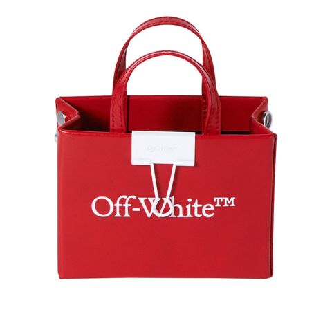 Red, Bag, Carmine, Logo, Luggage and bags, Shopping bag, Coquelicot, Shoulder bag, Label, Brand,