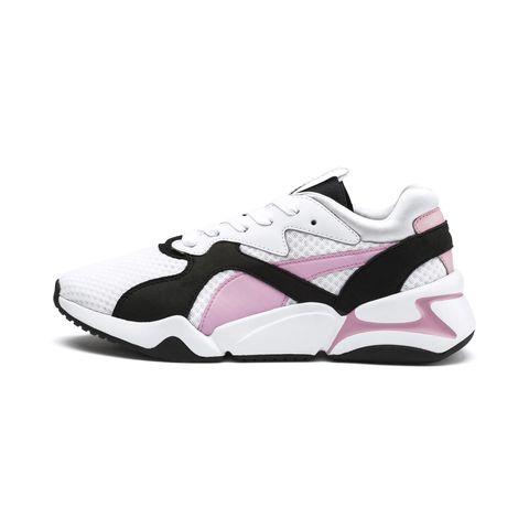 Shoe, Footwear, White, Sneakers, Black, Pink, Product, Walking shoe, Outdoor shoe, Running shoe,