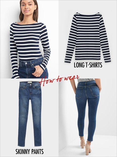 Clothing, Jeans, Denim, White, Blue, Shoulder, Sleeve, Waist, T-shirt, Fashion,