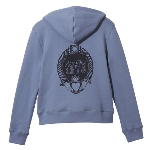 Product, Sleeve, Sportswear, Textile, White, Sweater, Sweatshirt, Font, Logo, Fashion,