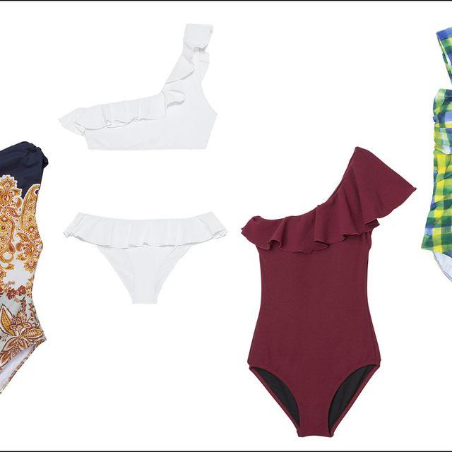 Clothing, One-piece swimsuit, Lingerie, Bikini, Swimwear, Swimsuit bottom, Undergarment, Maillot, Monokini,