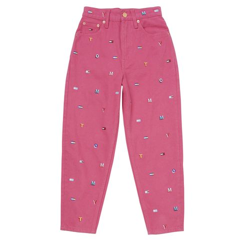 Clothing, Pink, Pajamas, Active pants, Trousers, sweatpant, Leggings, Sportswear, Nightwear, Pocket,