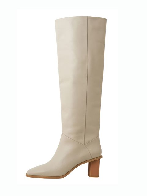 Brown, Boot, Shoe, Tan, Leather, Riding boot, Beige, Liver, Knee-high boot, High heels,
