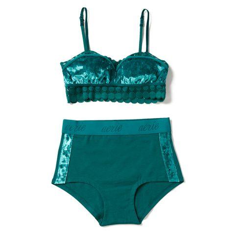 Clothing, Turquoise, Swimsuit bottom, Aqua, Lingerie, Undergarment, Briefs, Swimwear, Bikini,