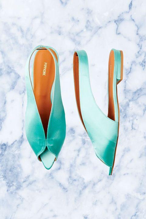 Footwear, Aqua, Shoe, High heels,