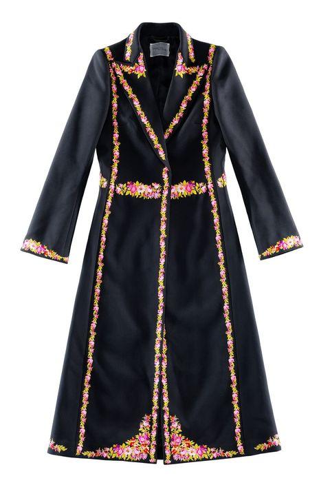 Sleeve, Textile, Collar, Formal wear, Style, Pattern, Dress, Blazer, Fashion, Costume design,