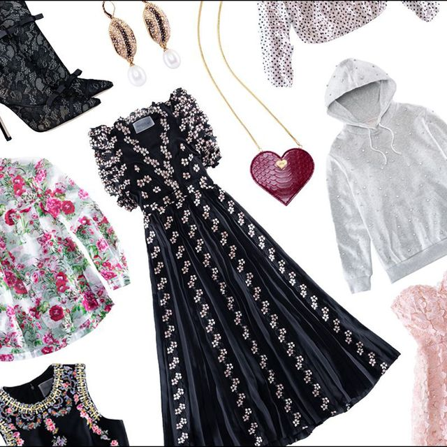 Product, Pattern, Pink, Costume accessory, Fashion, Magenta, Art, Design, Fashion design, Day dress,