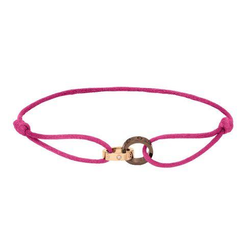 Bracelet, Pink, Fashion accessory, Jewellery, Magenta, Body jewelry, Bangle, Metal,