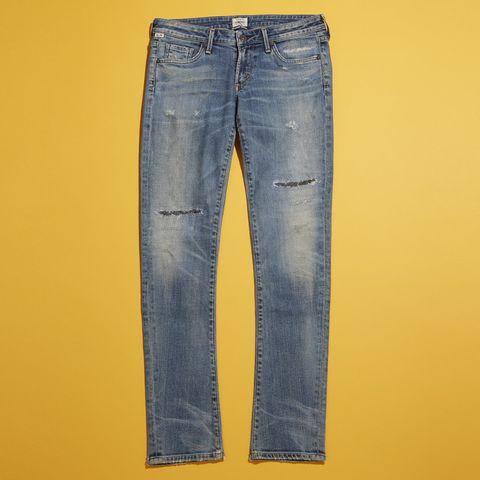 Clothing, Blue, Yellow, Denim, Trousers, Jeans, Pocket, Textile, Electric blue, Fashion design,