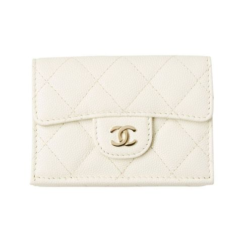 Wallet, Beige, Fashion accessory, Coin purse, Leather, Rectangle,