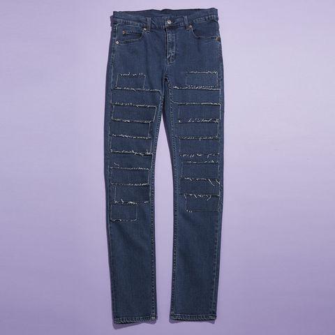 Clothing, Blue, Denim, Pocket, Jeans, Textile, Purple, Azure, Black, Electric blue,