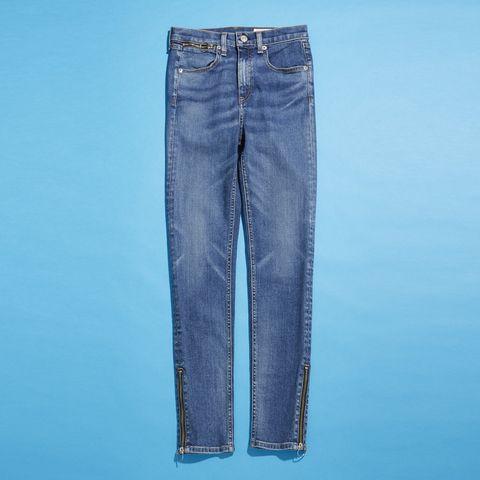 Blue, Product, Denim, Jeans, Pocket, Textile, White, Electric blue, Azure, Aqua,