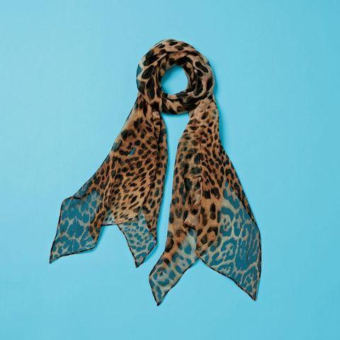 Aqua, Turquoise, Azure, Teal, Scarf, Fashion accessory, Stole,
